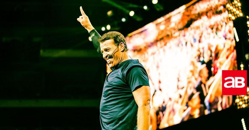 Celebrity Life-coach Tony Robbins Is Coming To Dubai